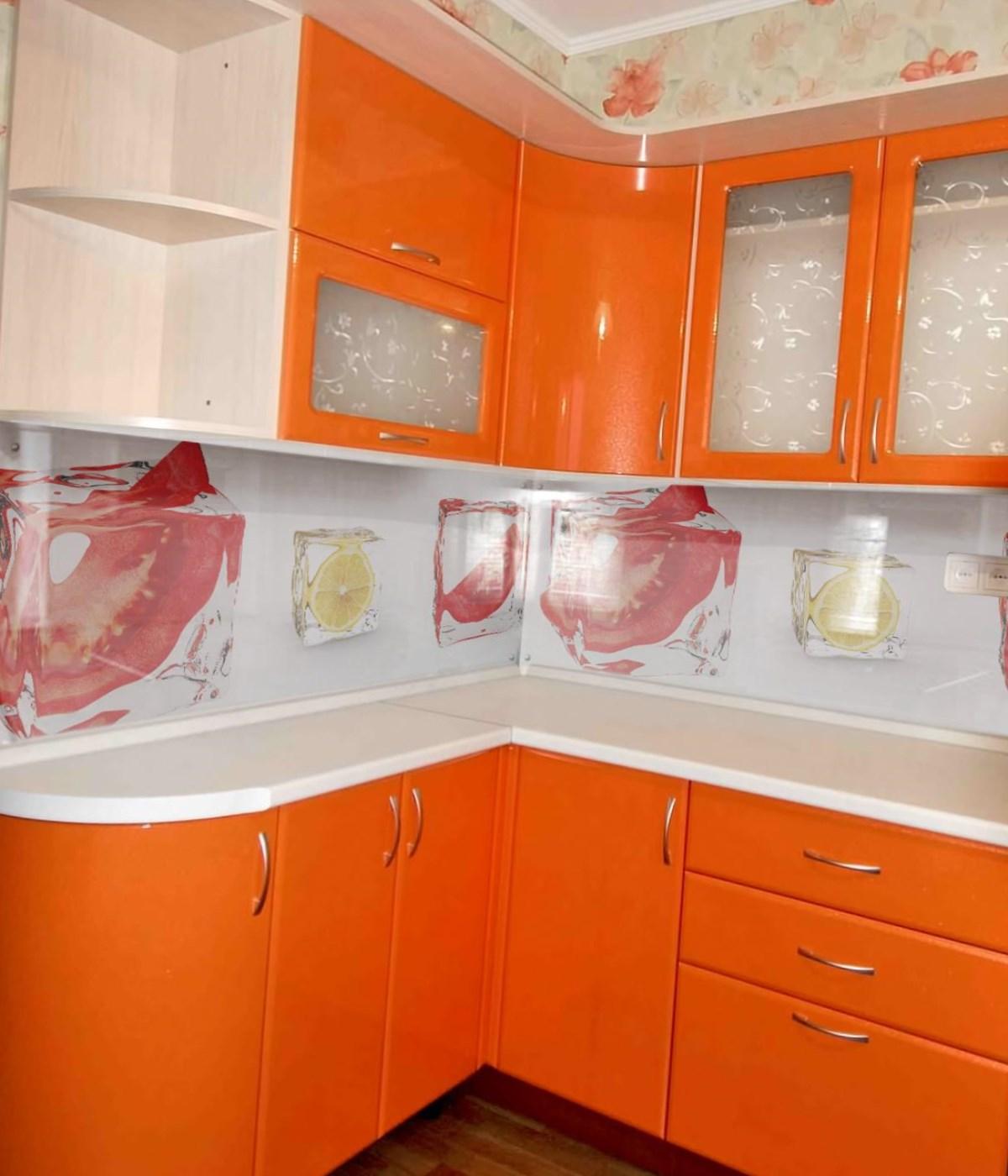 Апельсиновые тона
