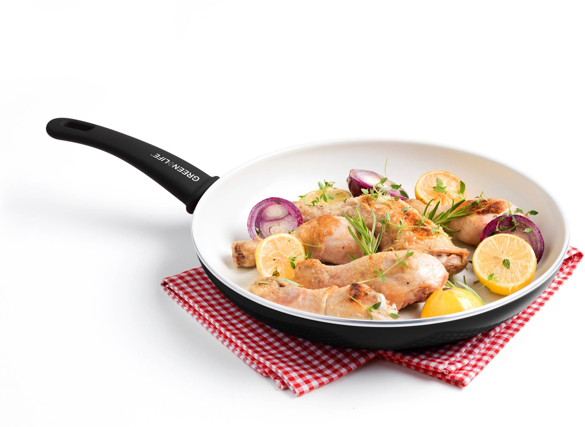 Использование ерамической сковороды