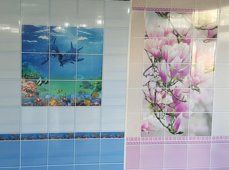 пластиковые панели с рисунком под плитку цена