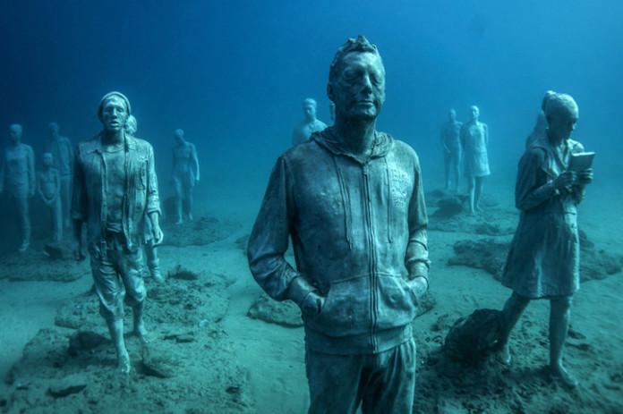 сверхреалистичные скульптуры людей