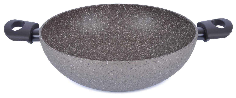 Круглая каменная сковорода