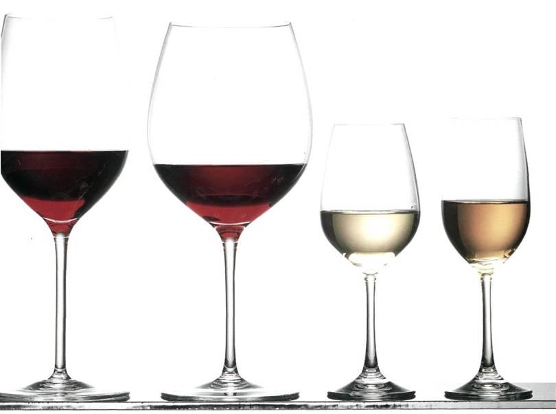 Виды винных бокалов