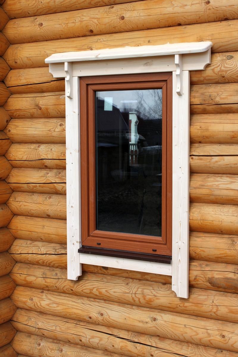 Деревянные наличники на окна как сделать