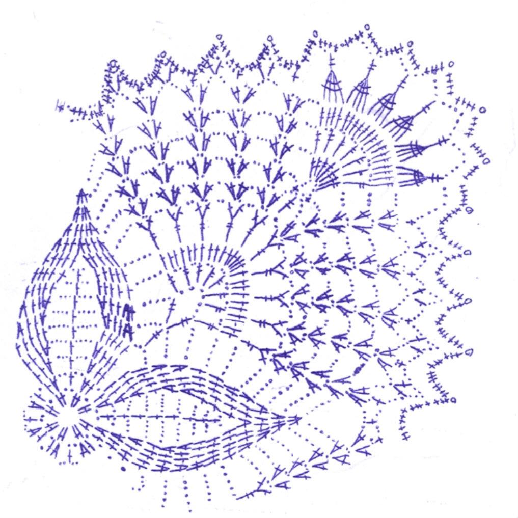 вязаные декоративные изделия своими руками схема