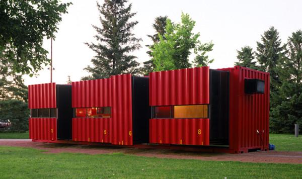 12 домов из морских контейнеров4