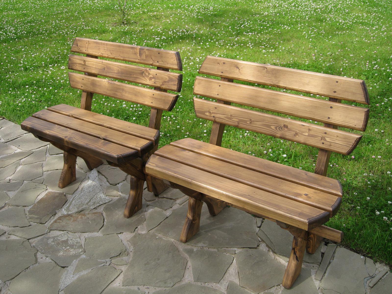 Садовая скамейка своими руками образец