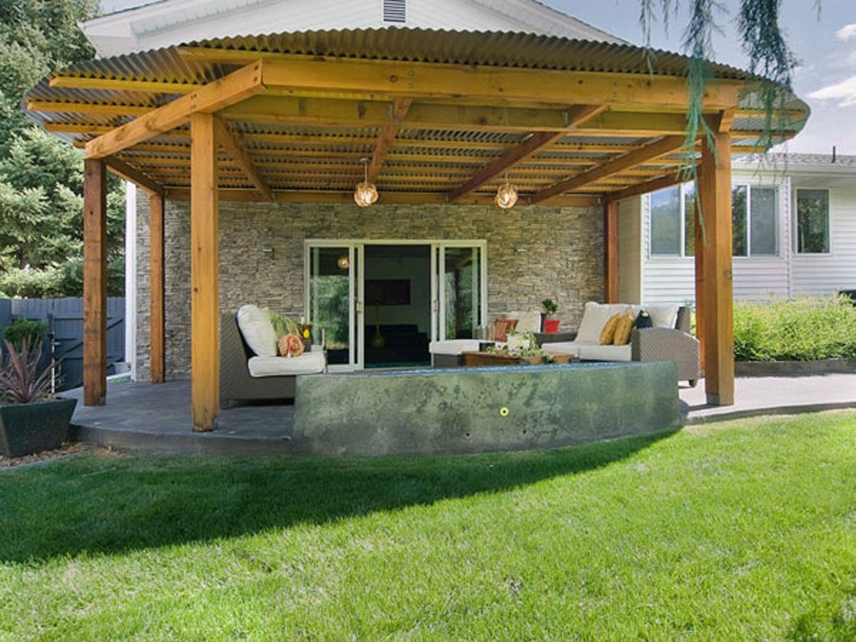 Дизайн веранд к частному дому