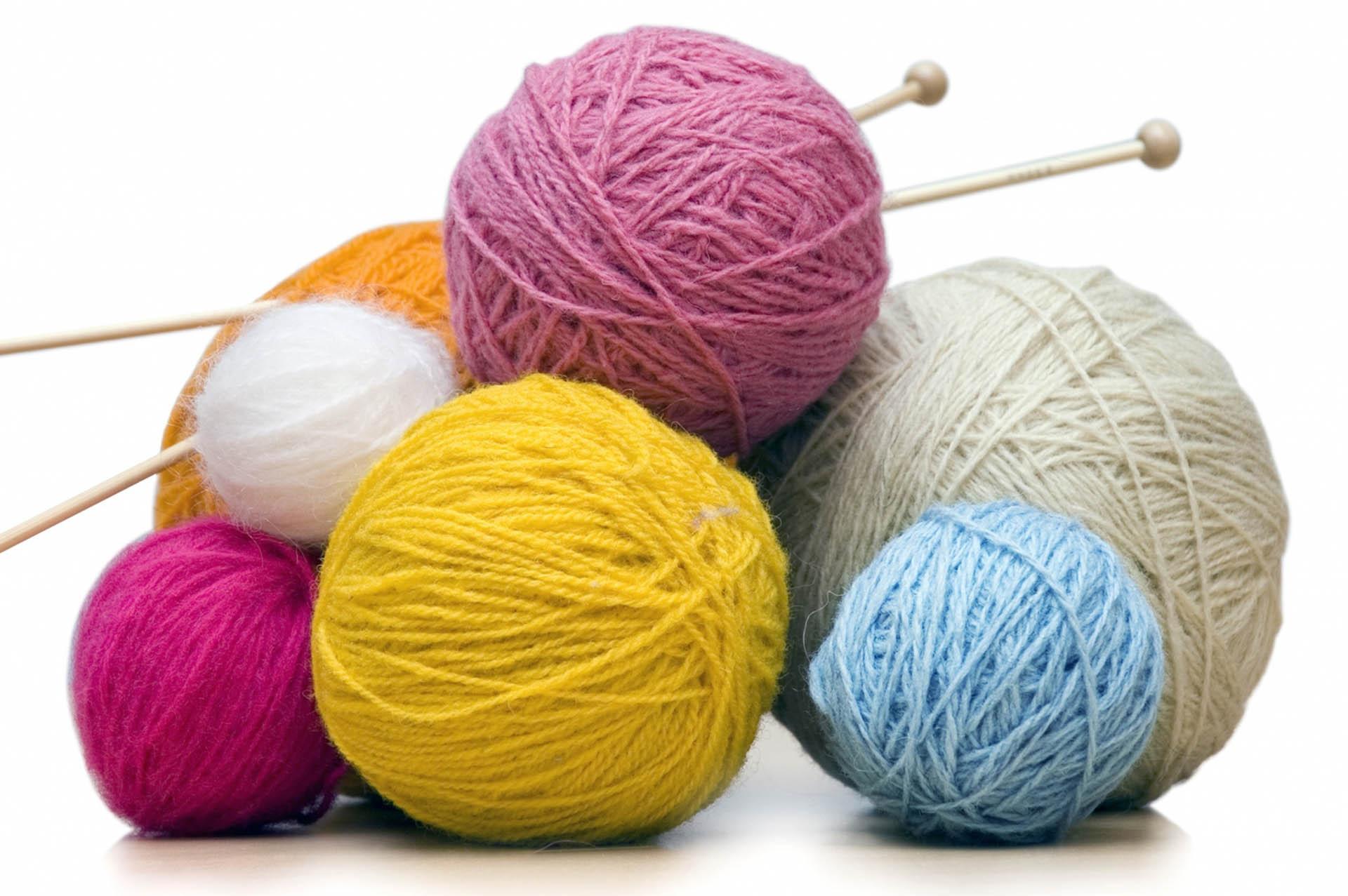 Клубочки для вязания