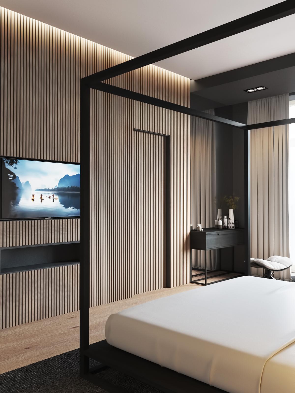 6 роскошных спален36