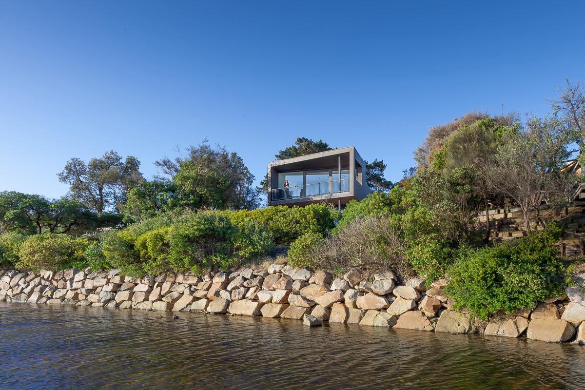 пляжный дом с видом на залив1