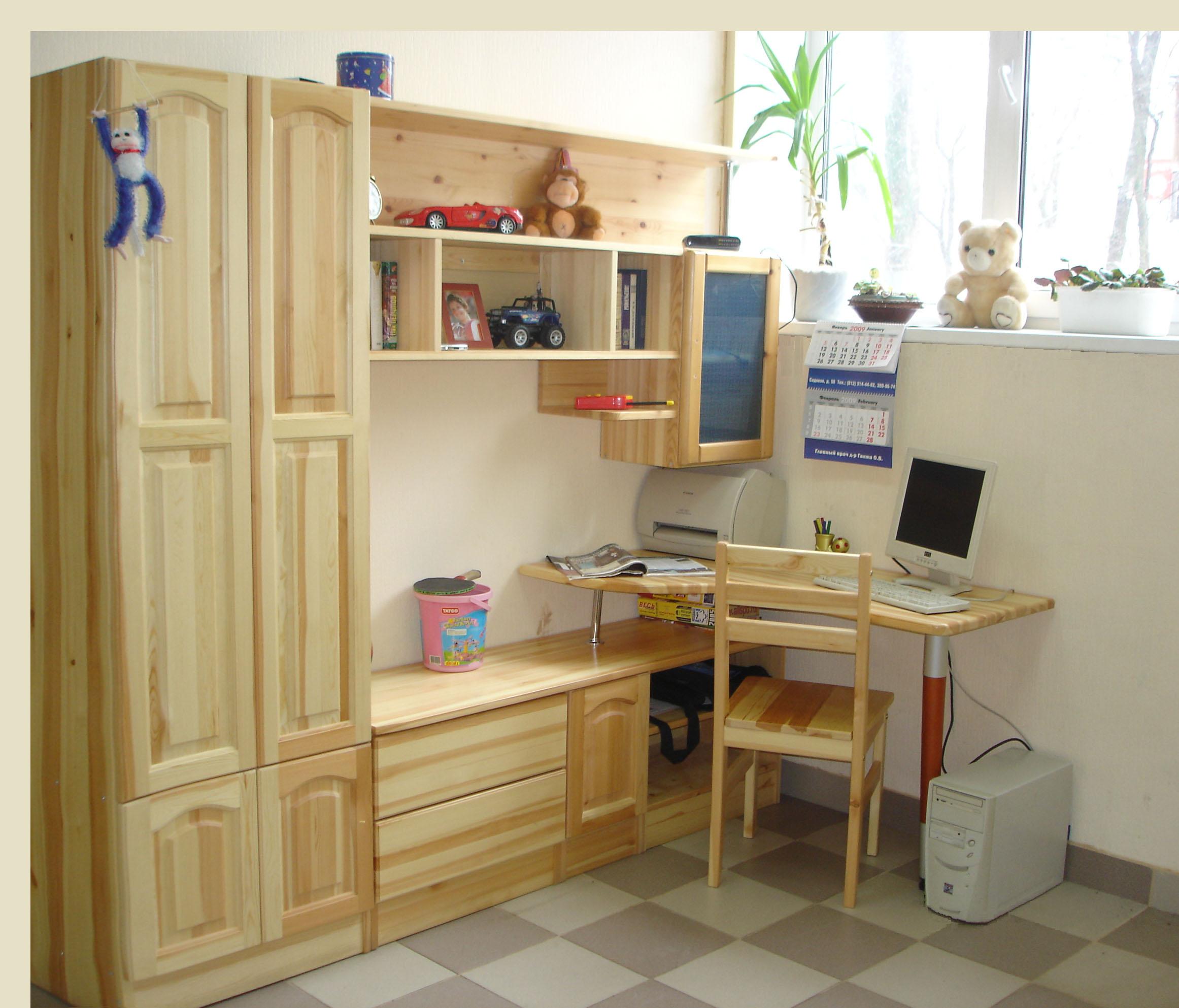 Мебель в спальню самодельная