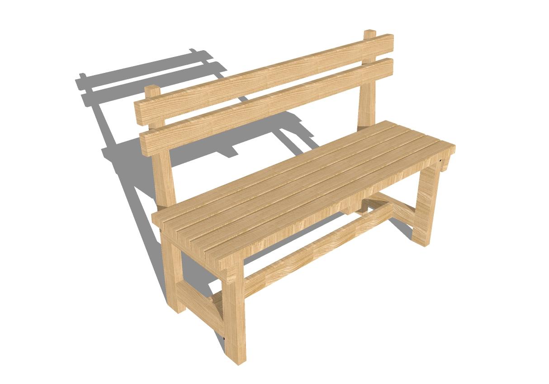 Скамейка своими руками из дерева: инструкция начинающего 53