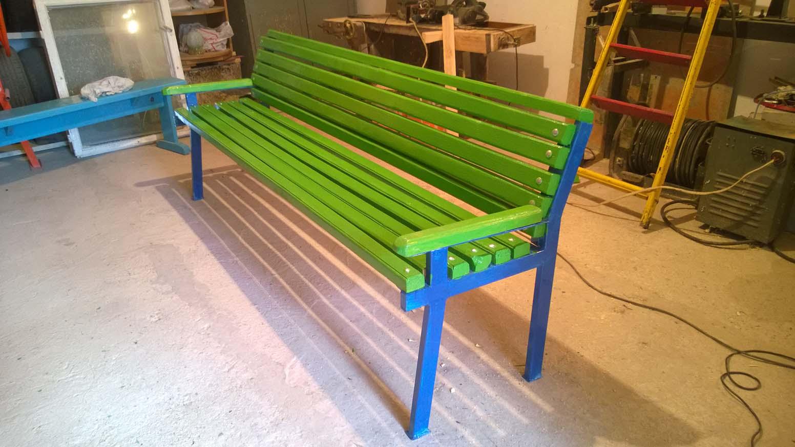 Садовая скамейка своими руками садовая