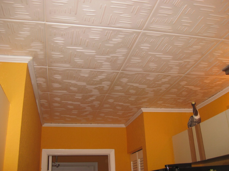 Потолок из полистирола