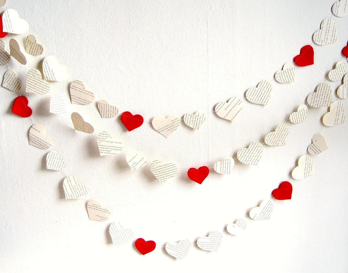 Гирлянда из сердец