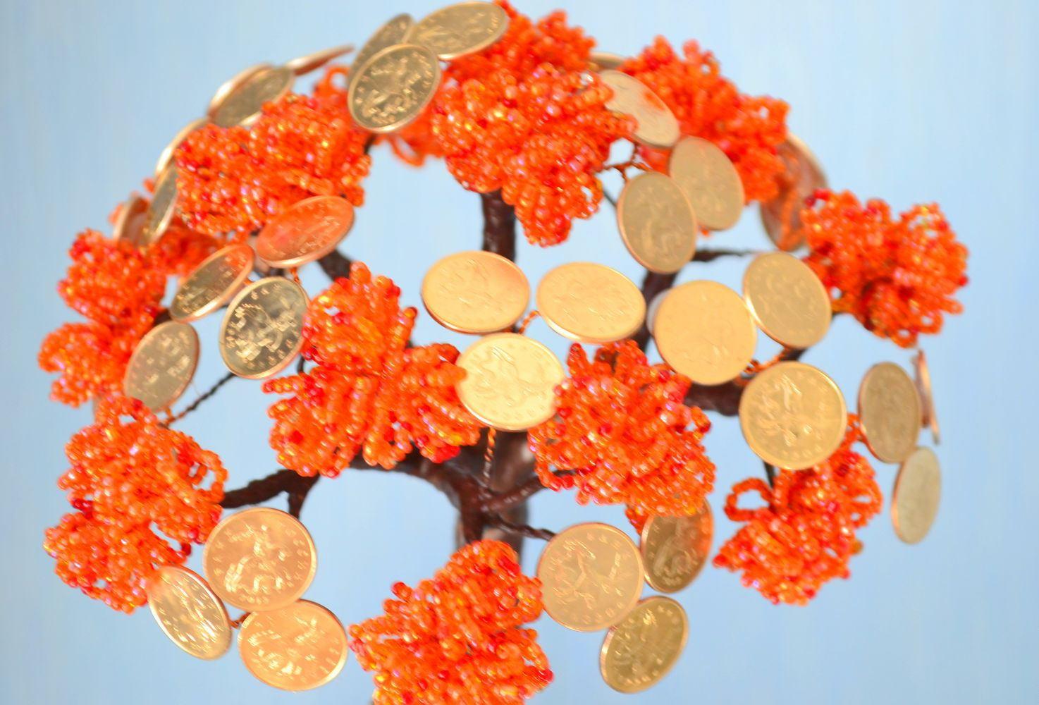 Как сделать денежное дерево своими руками. Пошаговая