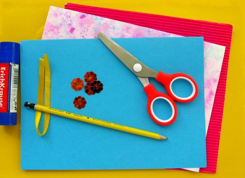 Открытки из картона и бумаги для бабушки