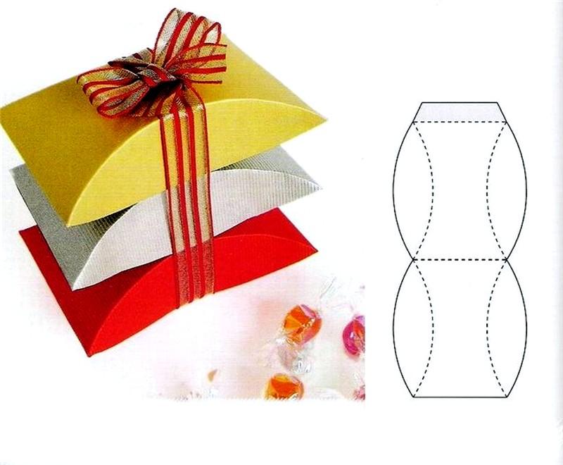 Подарочные коробочка из бумаги