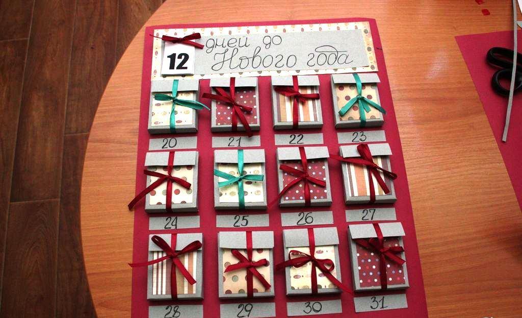 Календари своими руками мастер класс