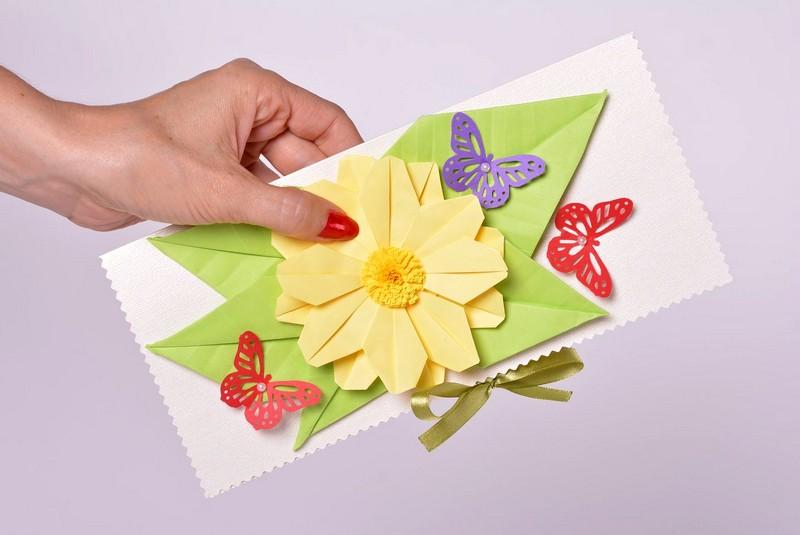 Как сделать красивою открытку из картона, семья картинки