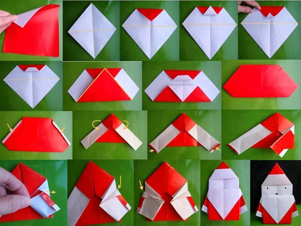Как сделать новогодние оригами из бумаги своими руками