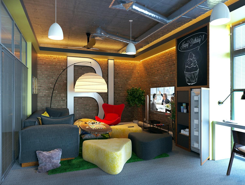 Комната отдыха для сотрудников