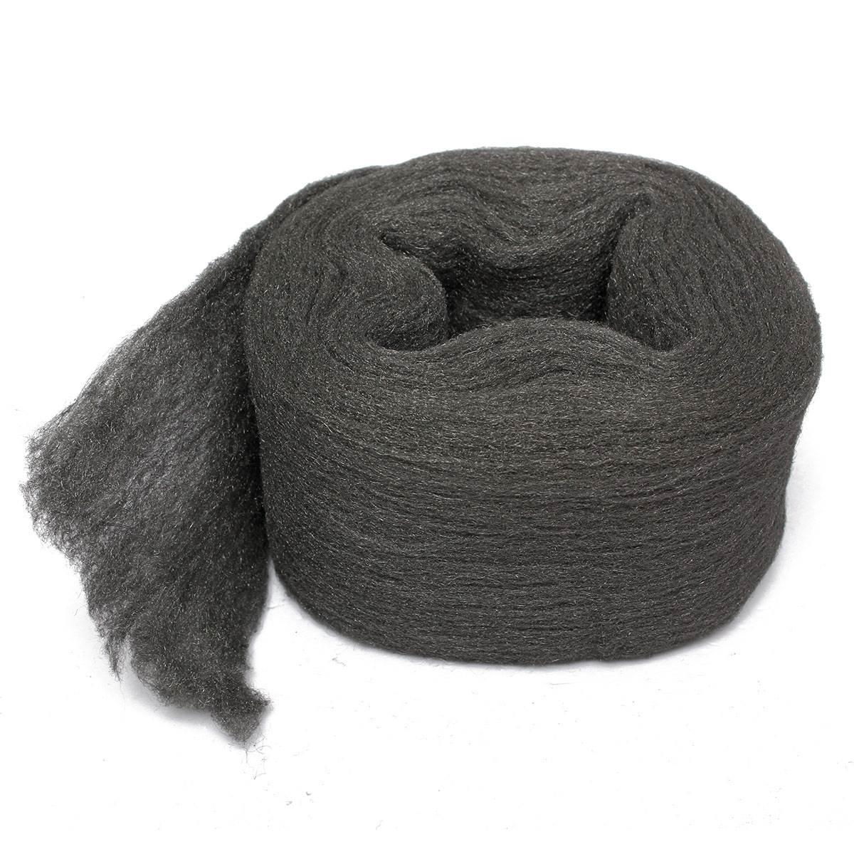 Стальная шерсть черного цвета