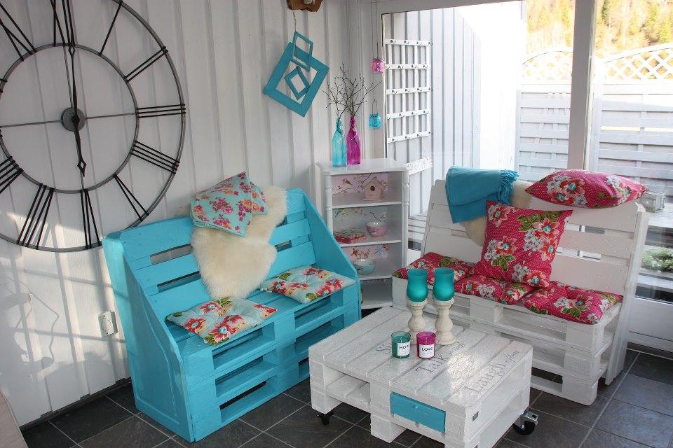 Самодельная мебель из паллет