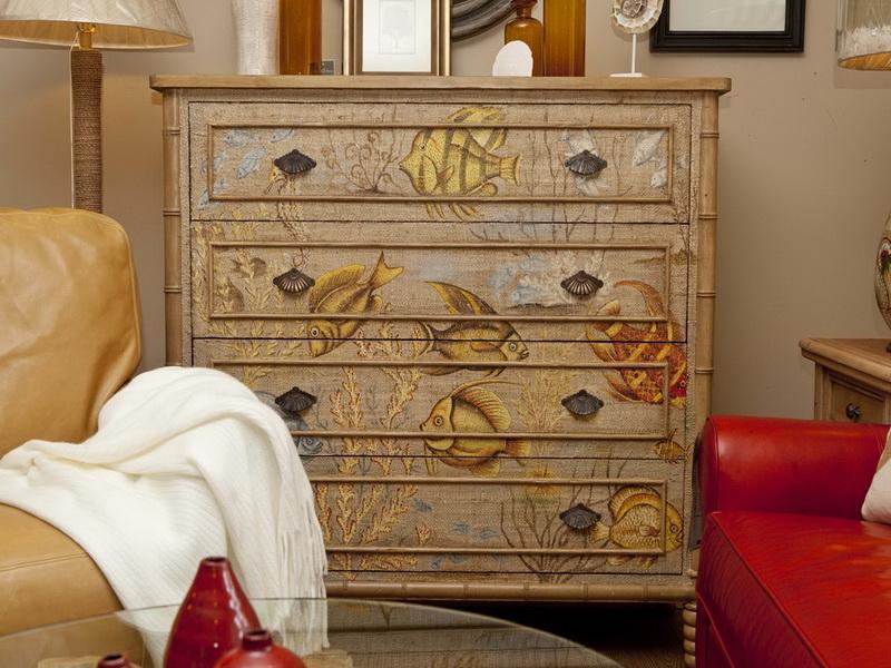 Роспись мебели