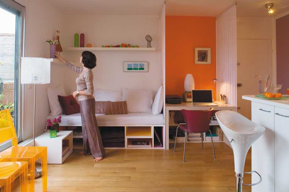 Зонирование жилья начинается с того, сколько человек будут жить в помещении