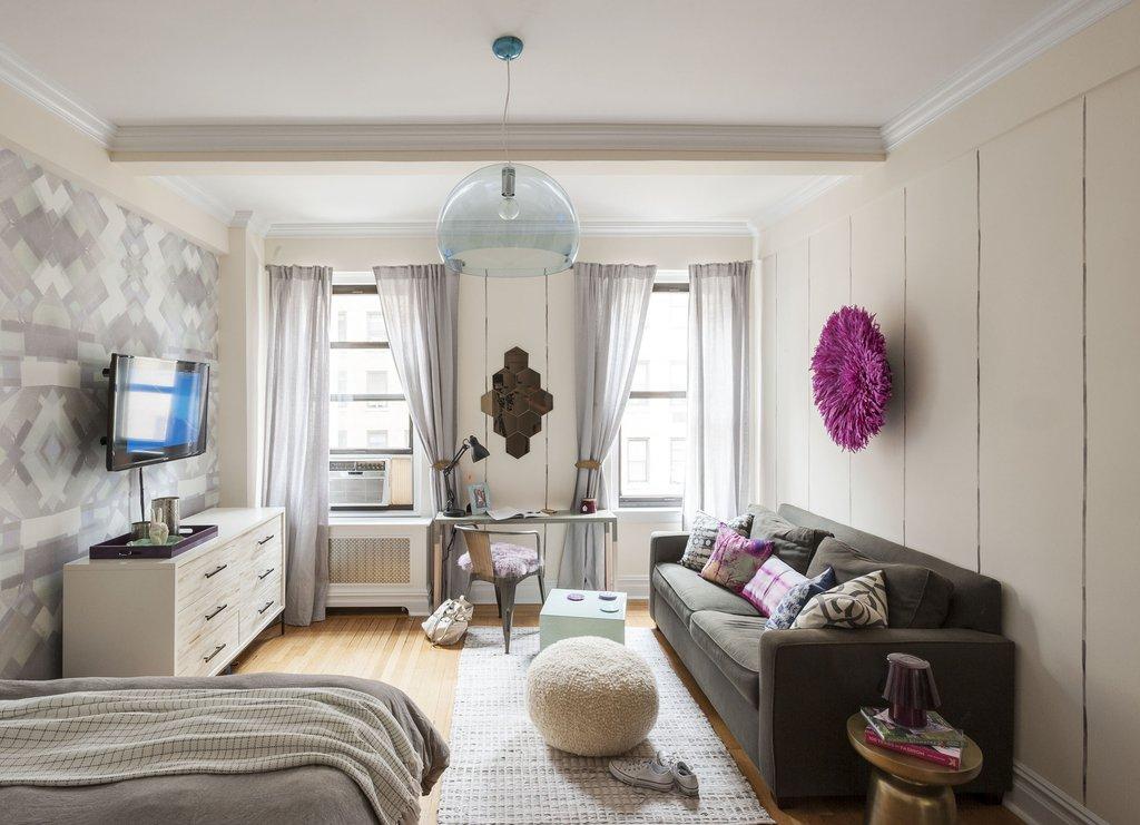 При оформлении квартиры лучше использовать сдержанные цвета