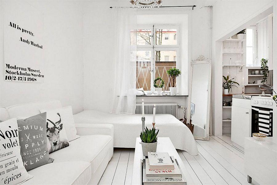 Компактная и функциональная квартира-студия