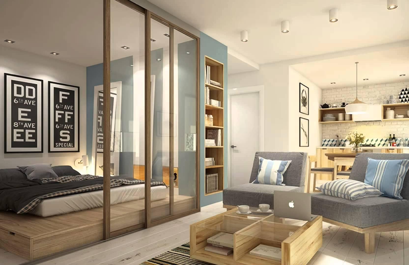Выбирая мебель, стоит отдать предпочтение компактной, но при этом вместительной