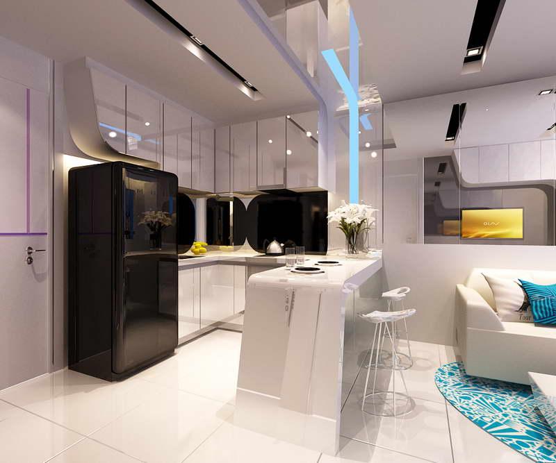 дизайн квартиры 40 кв м фотографии