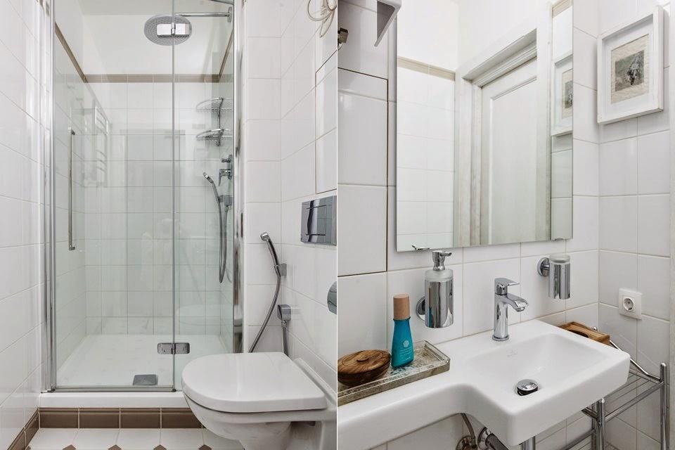 В ванной комнате нужно стремиться создать лаконичный интерьер