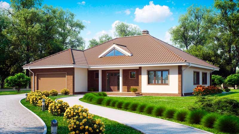 О преимуществах готовых проектов одноэтажных жилых домов