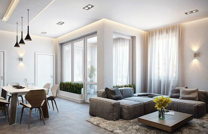 Освещение многофункционального помещения