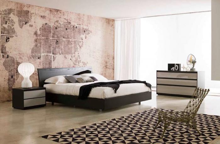 Прикроватные тумбы в интерьере спальни