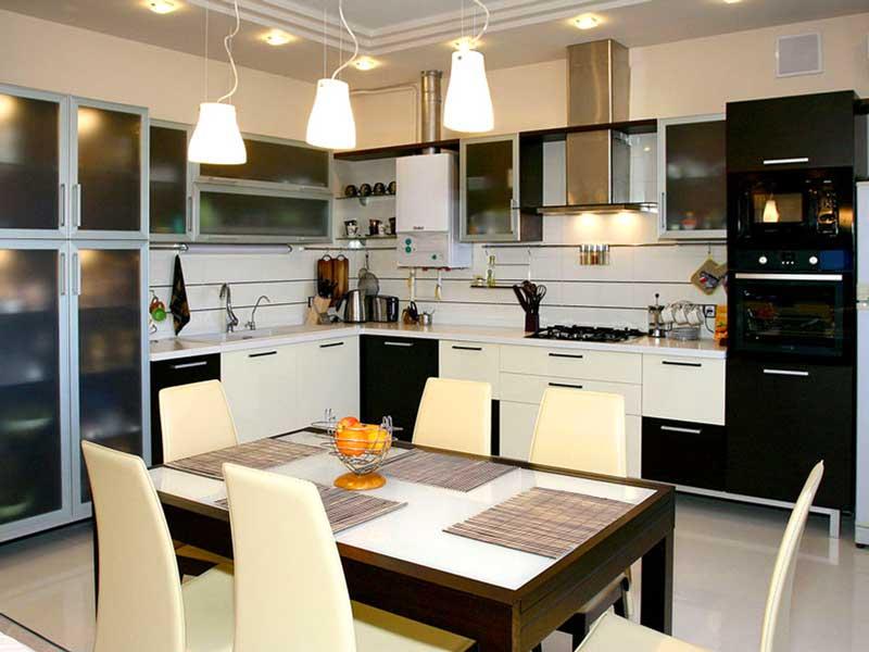 Освещение на кухне - секреты выбора идеальной люстры
