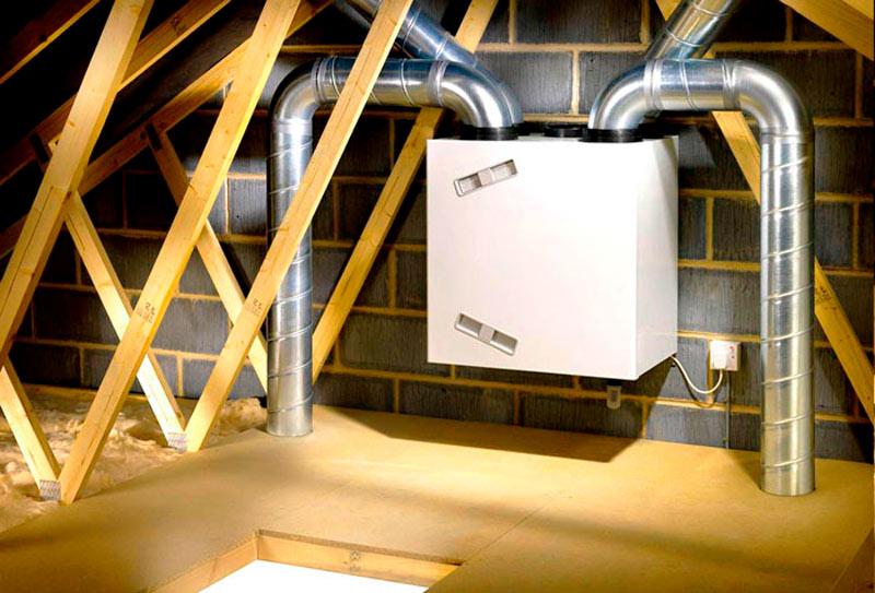 Вентиляция с рекуперацией - комфортный микроклимат с пользой для кошелька