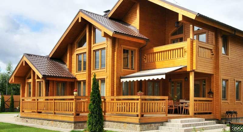 Дома из клееного бруса - выбор современного человека
