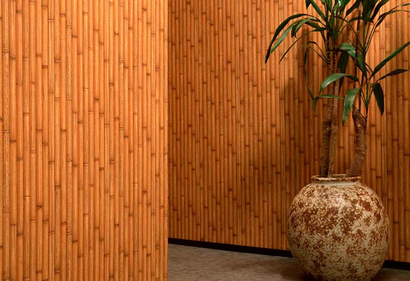 Бамбуковые обои - подготовка к поклейке