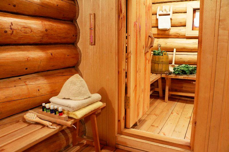 5 преимуществ бревенчатой бани