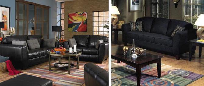 Черная мебель
