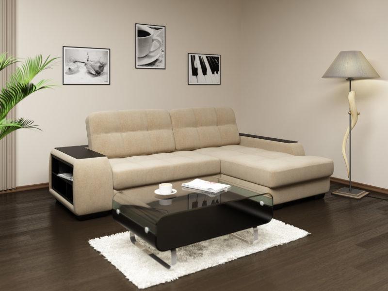 Современные диваны в интерьере.