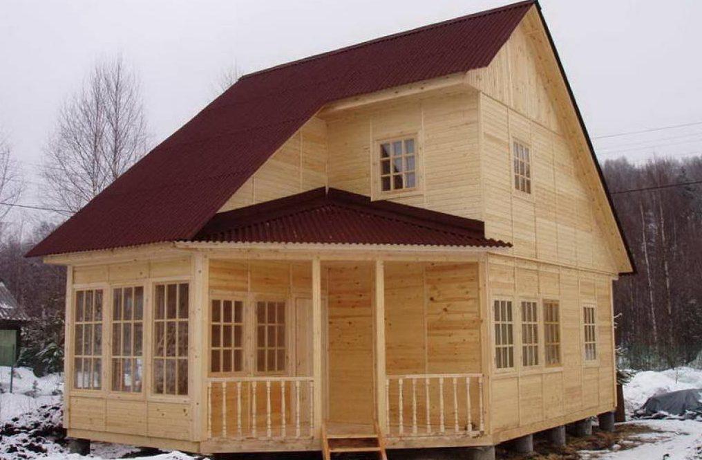 Дом из каркаса