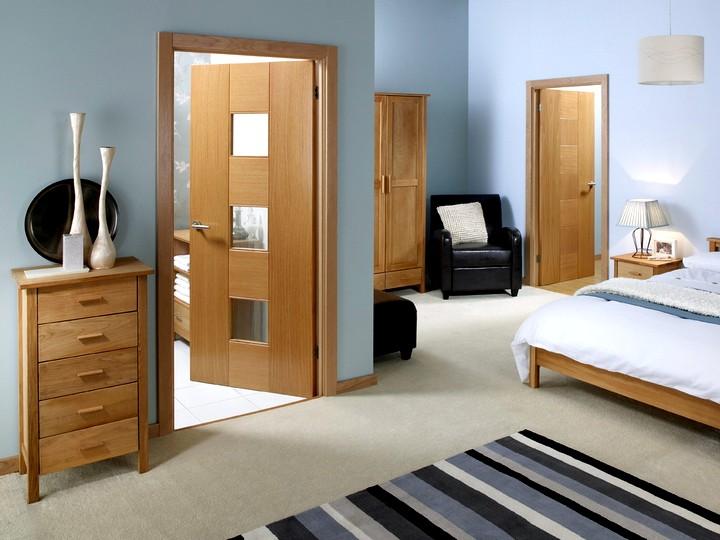 Межкомнатные распашные двери (3)