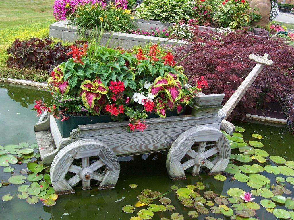 Дизайн сада и огорода своими руками