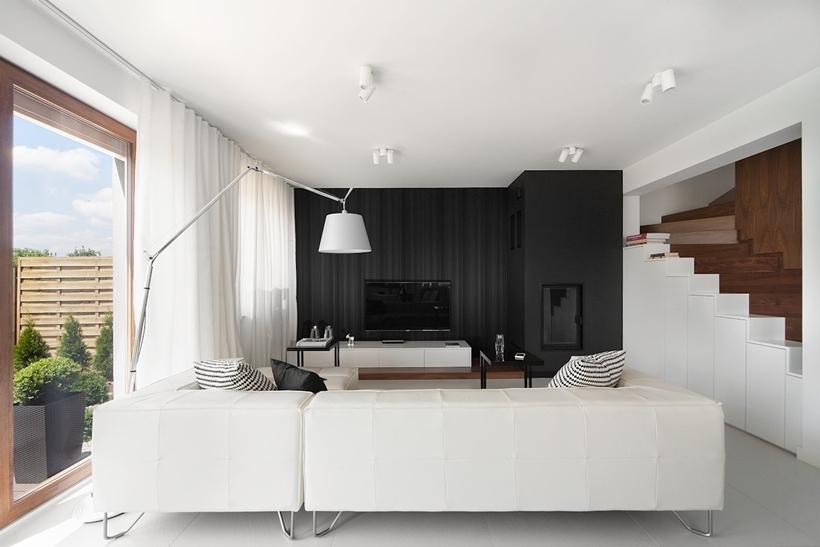 Фото мебель для зала в современном стиле