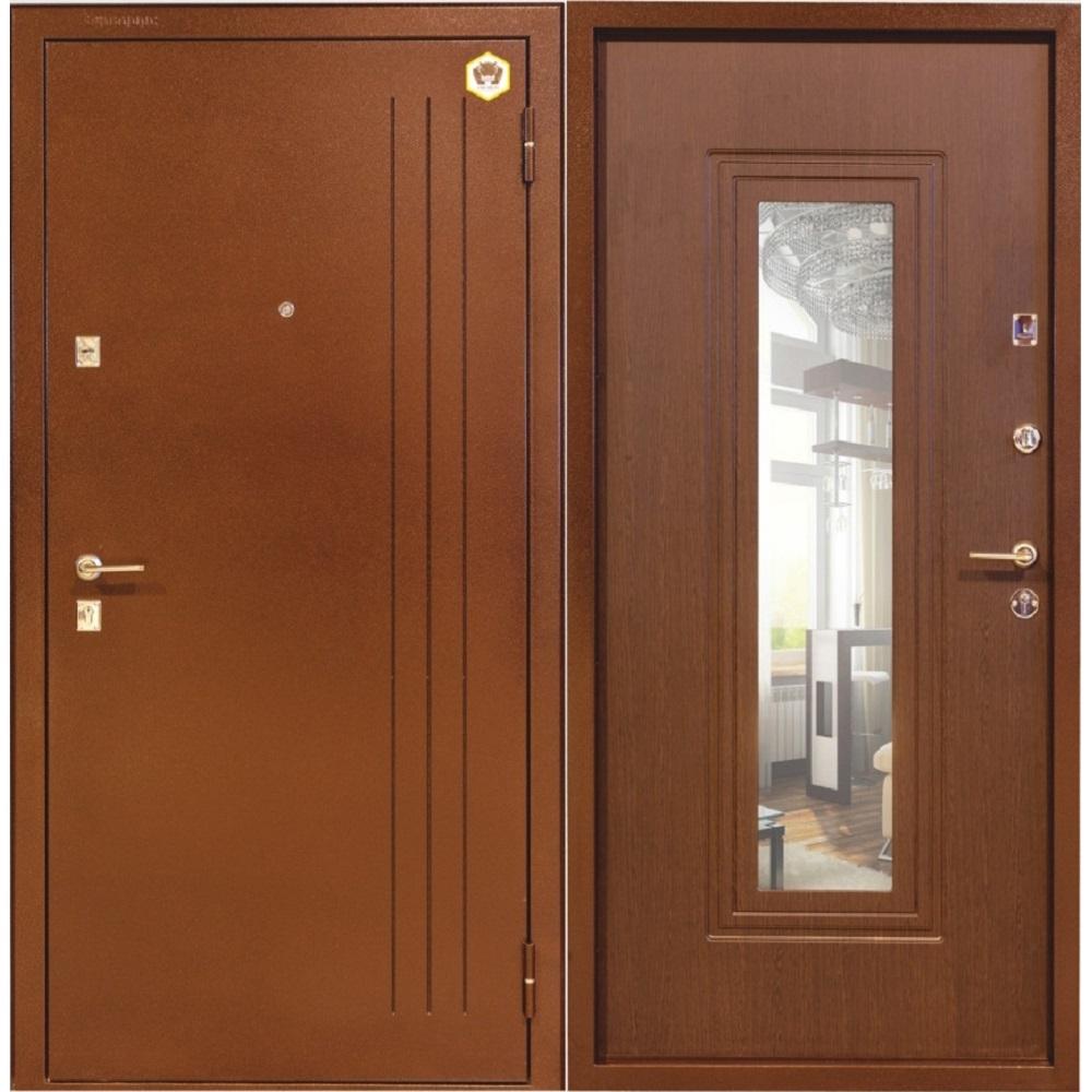 Фото двери с зеркалом